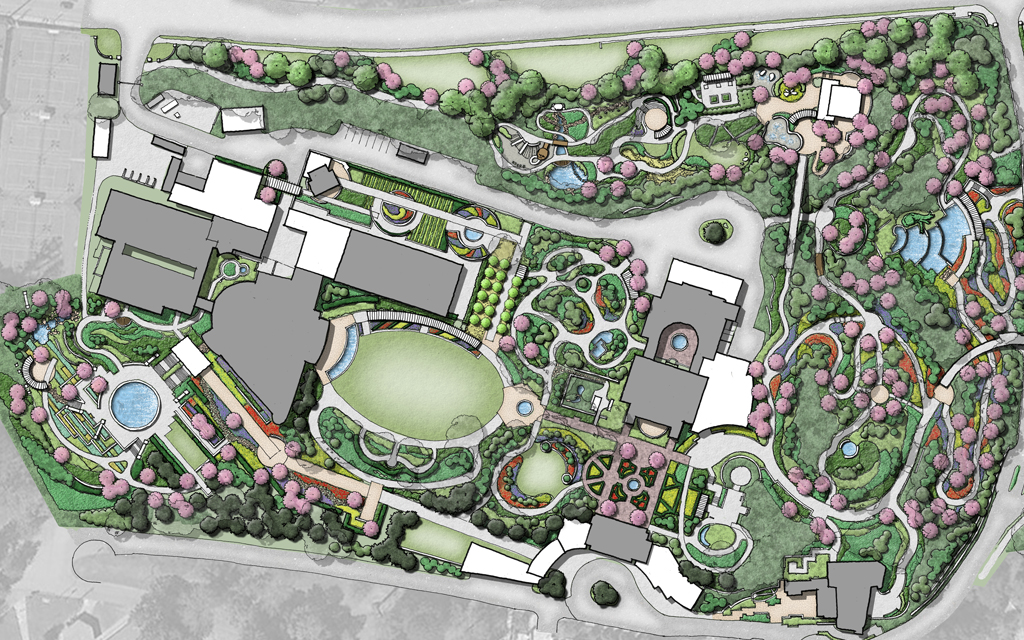 Atlanta Botanical Garden Master Plan Detail 1
