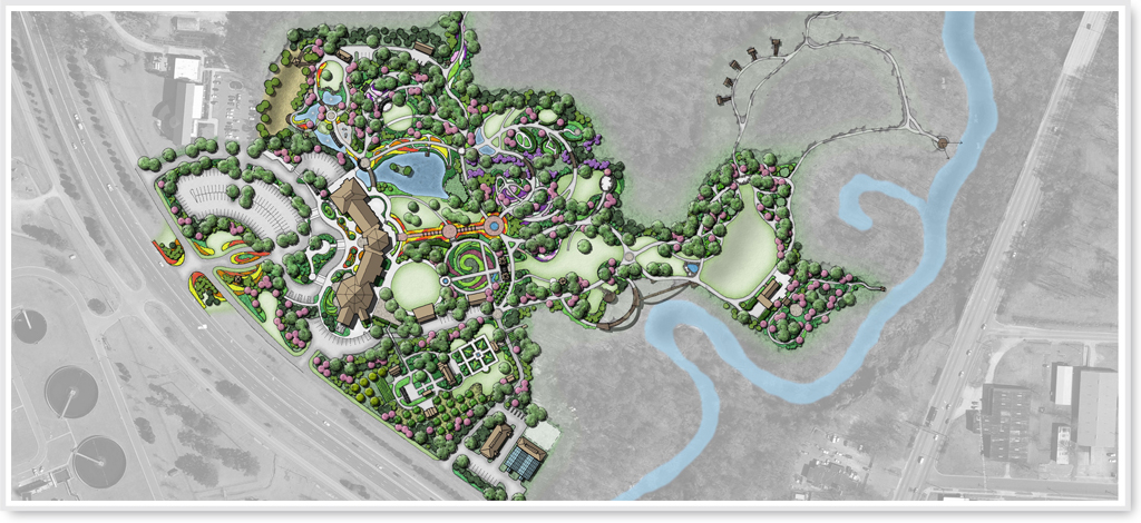Cape fear botanical garden master plan for Botanical garden design