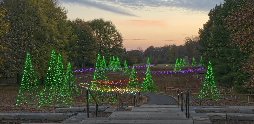 Daniel stowe botanical garden holiday lights master plan - Daniel stowe botanical garden christmas ...